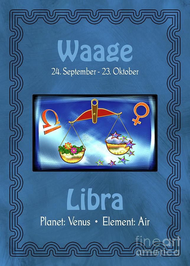 Zodiac Sign Libra - Waage