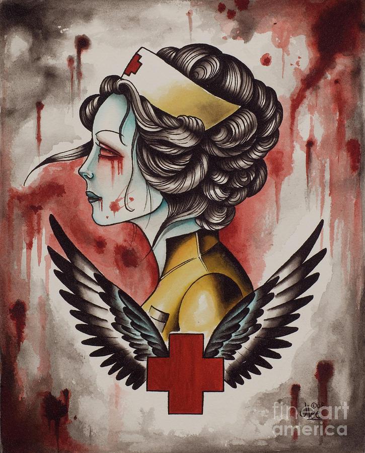 Zombie Nurse by Curiobella- Sweet Jenny Lee