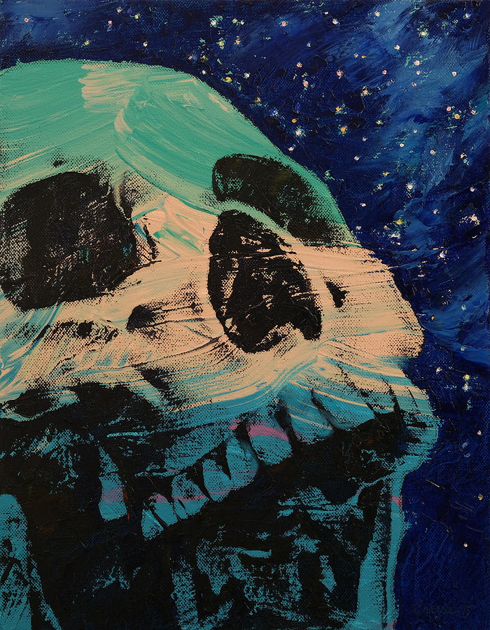 Star Painting - Zombie Stars by Michael Creese