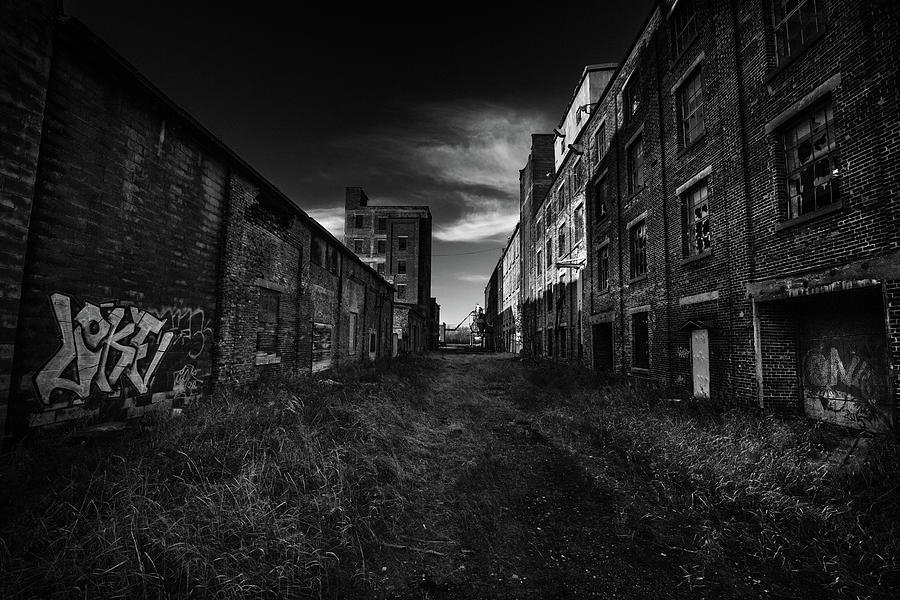 Abandoned Photograph - Zombieland The Fort William Starch Company by Jakub Sisak