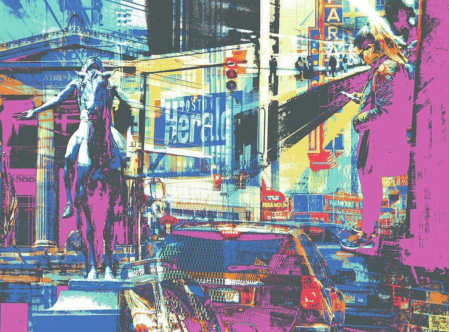 Boston Mixed Media - Zone by Shay Culligan
