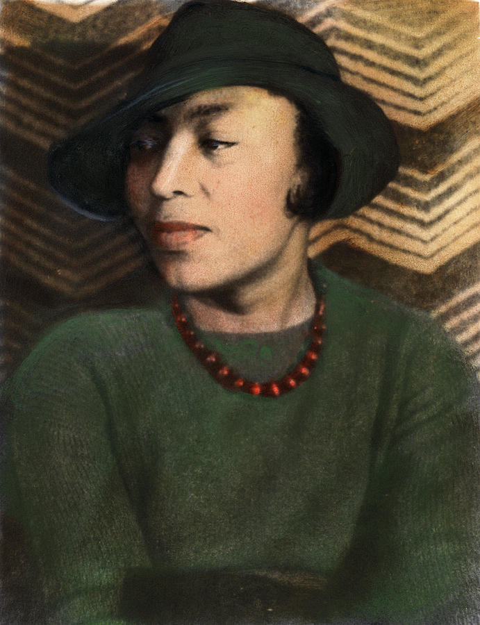 1938 Photograph - Zora Neale Hurston, C1903-1960 by Granger