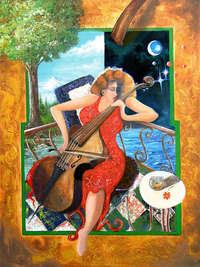 Music Painting - Zoraida by James Berger