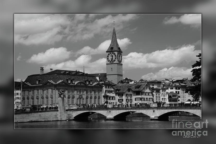 Zurich Photograph - Zuerich by Bruno Santoro