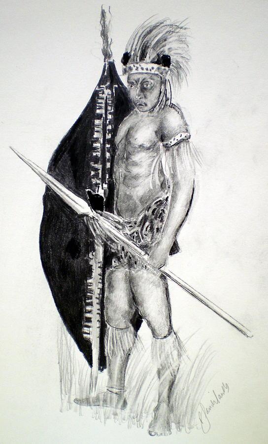 Zulu Painting - Zulu Roarkes Drift by Paul Sandilands