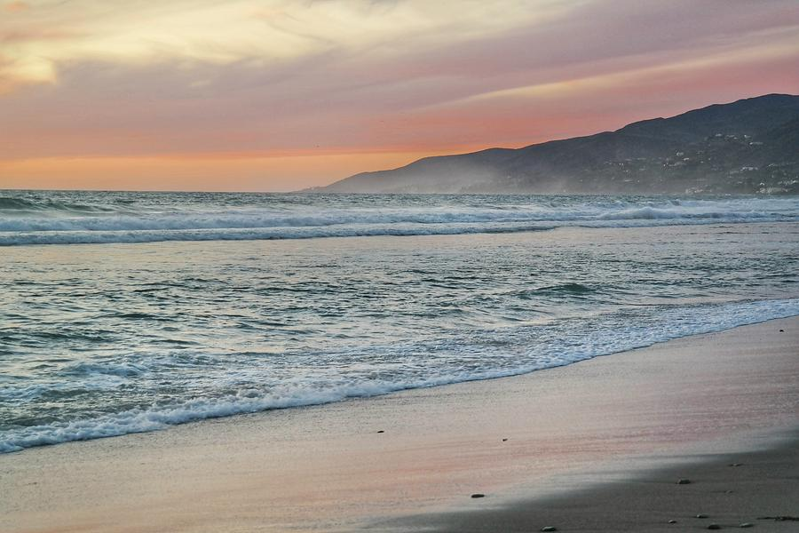 Zuma Beach Sunset Photograph