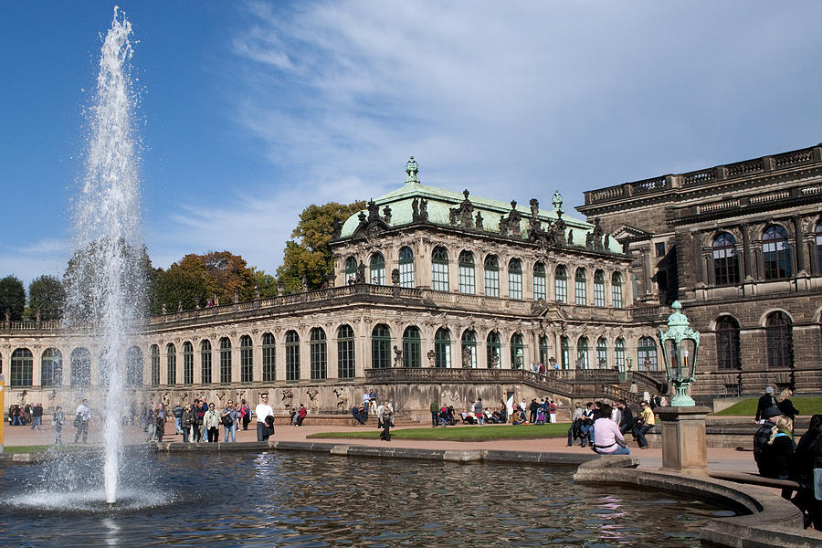 Zwinger Photograph - Zwinger2104 by Charles  Ridgway