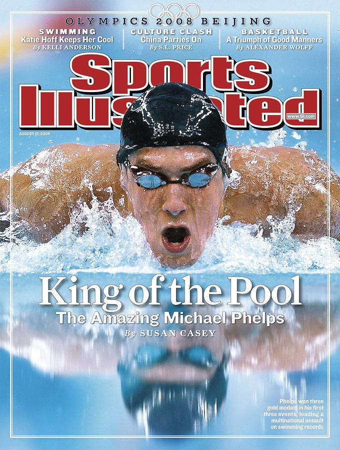 , 2008 Summer Olympics Sports Illustrated Cover Photograph by Sports Illustrated