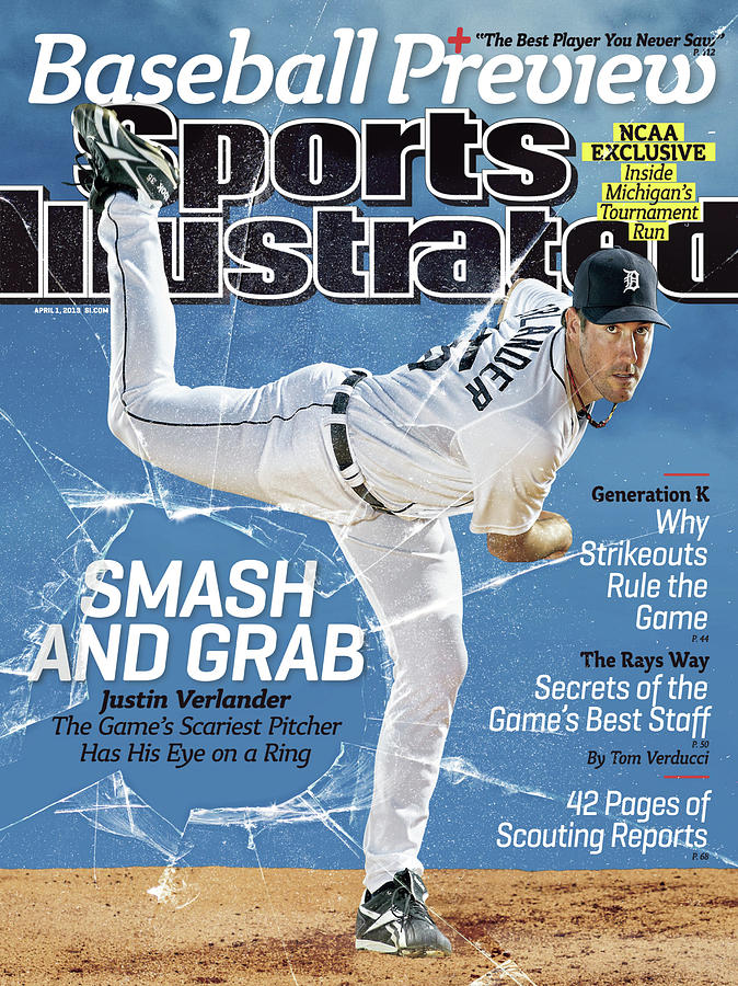, 2013 Mlb Baseball Preview Issue Sports Illustrated Cover Photograph by Sports Illustrated