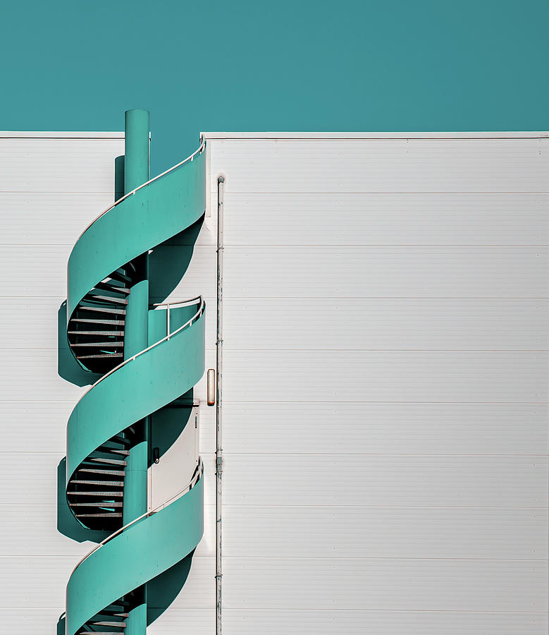 Staircase Photograph - ... Spiral by Joerg Vollrath