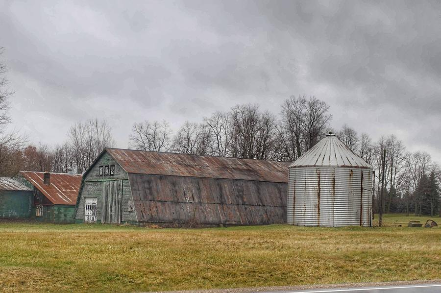 0255 - Hough Roads Green Quonset by Sheryl L Sutter