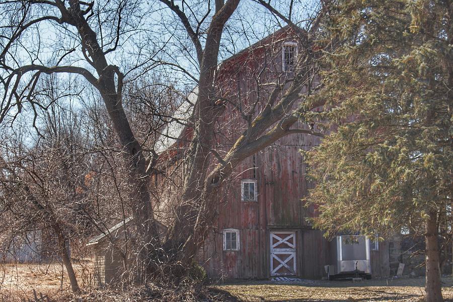 0255 - Lakeville Roads Hidden Red by Sheryl L Sutter
