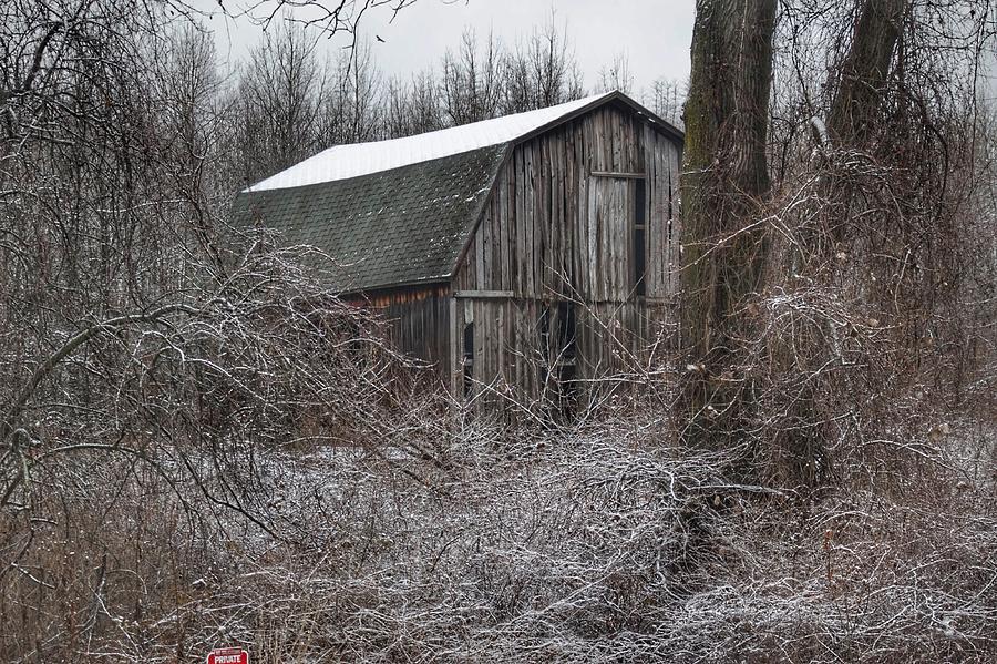 0263 - Saginaw Road Grey by Sheryl L Sutter