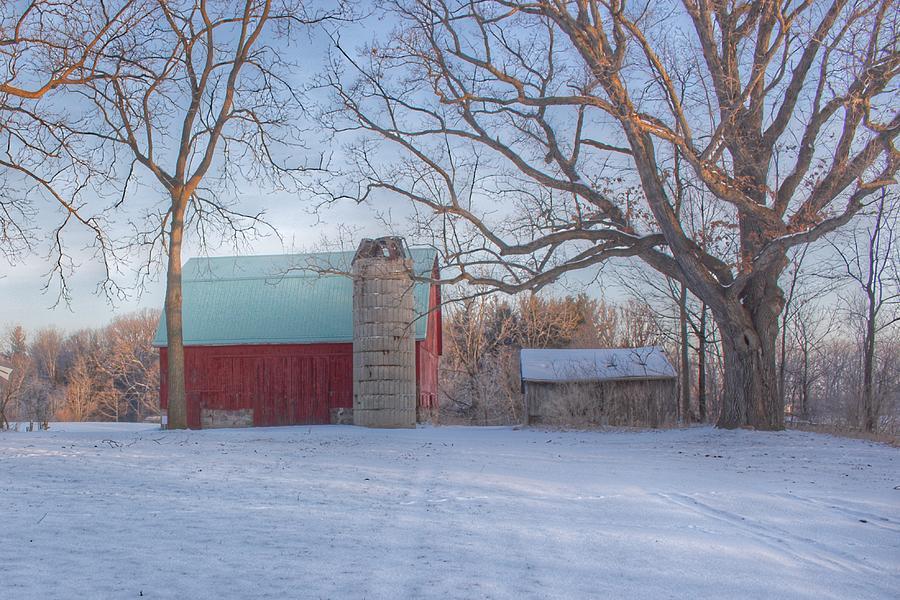 0268 - Webster Road Red by Sheryl L Sutter
