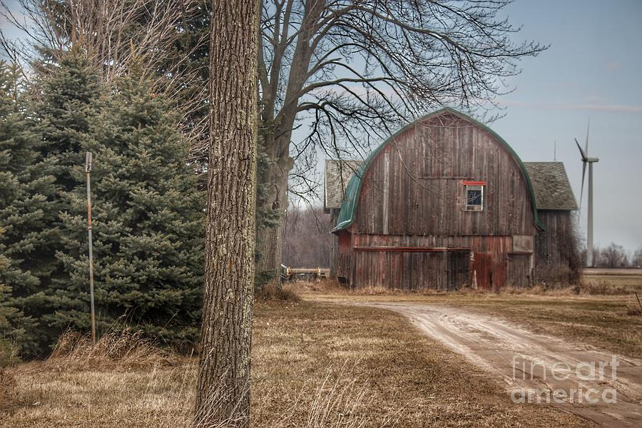 0274 - Barns of Deckerville Road I by Sheryl L Sutter