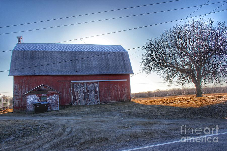 0295 - Rochester Road Red II by Sheryl L Sutter