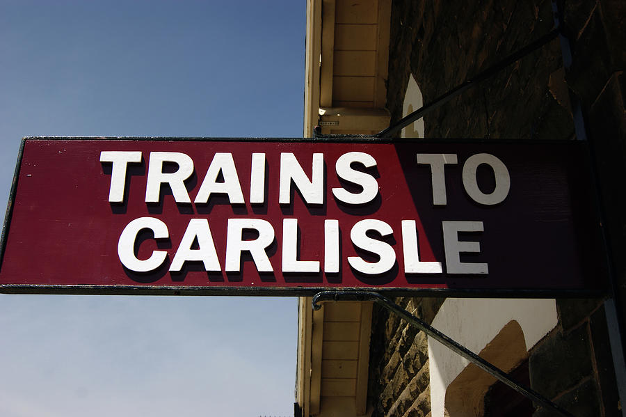 06/06/14 SETTLE. Station View. Destination Board. by Lachlan Main