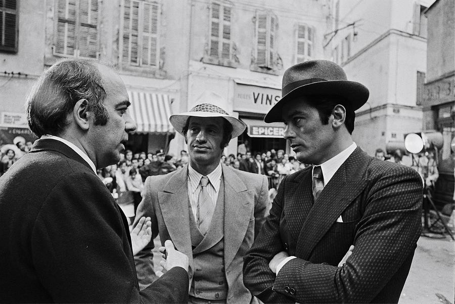 0n The Set Of The Movie Borsalino Photograph by Jean-pierre Bonnotte