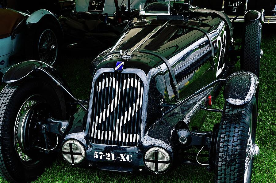 1930's Photograph - 1930s Talbot Lago T23 Race Car by Graham Cornall