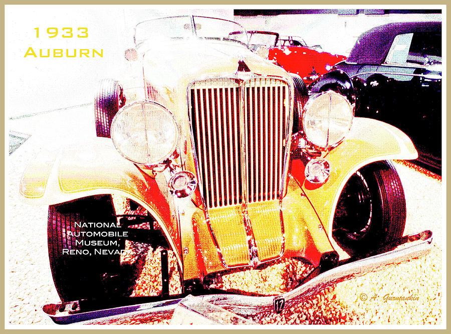1933 Auburn Classic Automobile by A Gurmankin