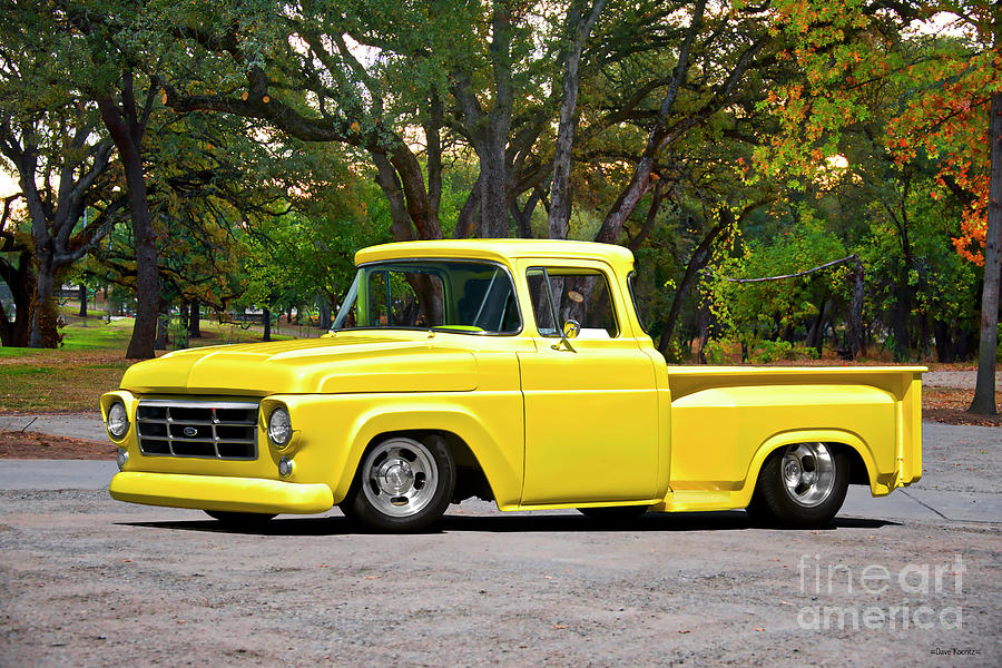 1957 Ford F100 Custom Pickup Photograph By Dave Koontz