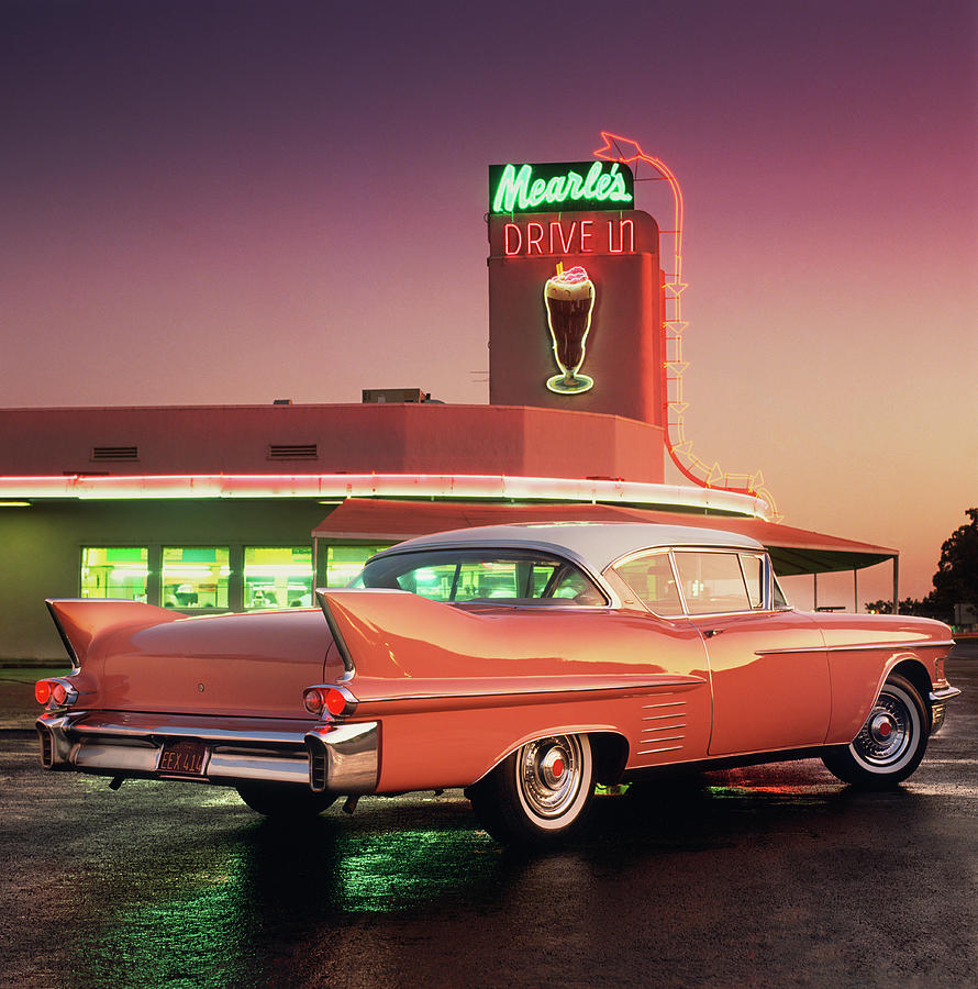1958 Cadillac Series 62 Coupe Photograph By Car Culture