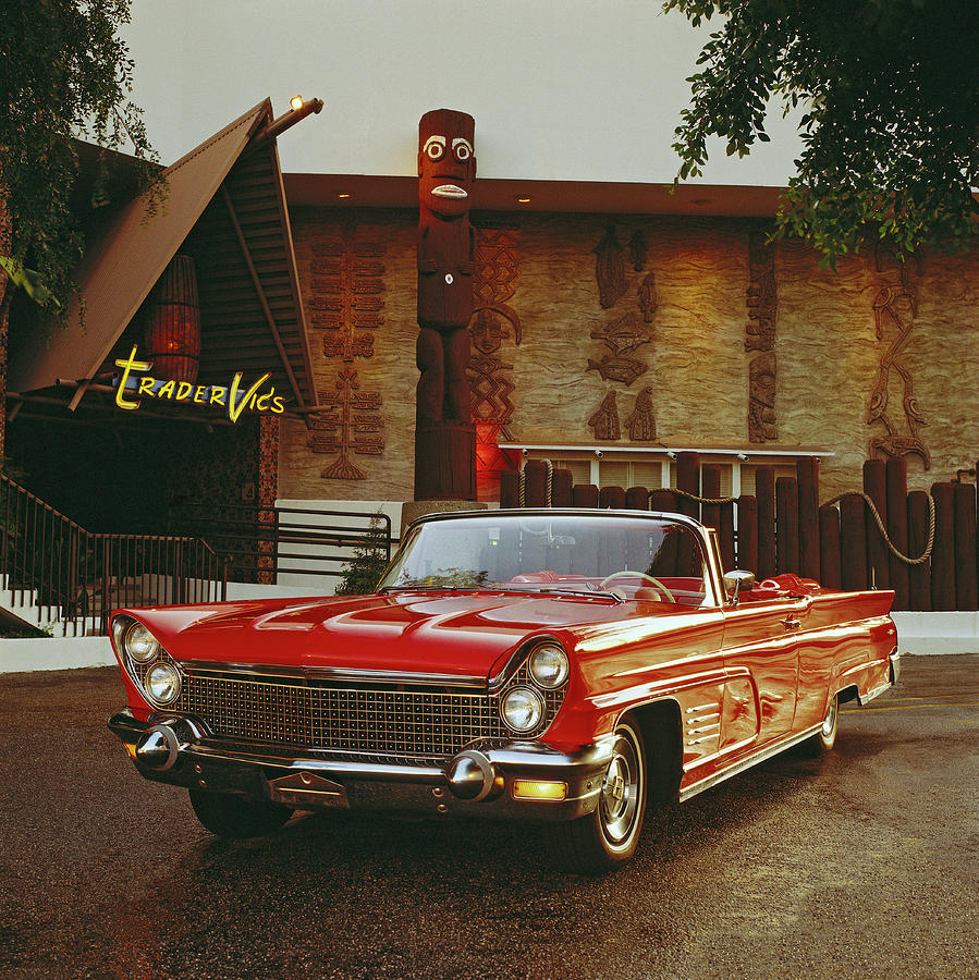 1960 Lincoln Continental Mark V Photograph by Car Culture