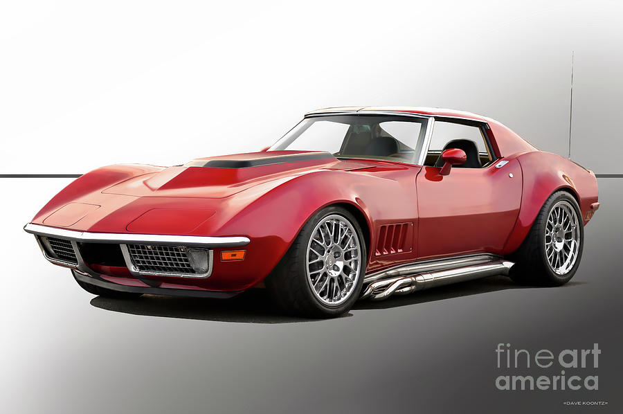 1969 Chevrolet Corvette C3 Stingray Photograph By Dave Koontz