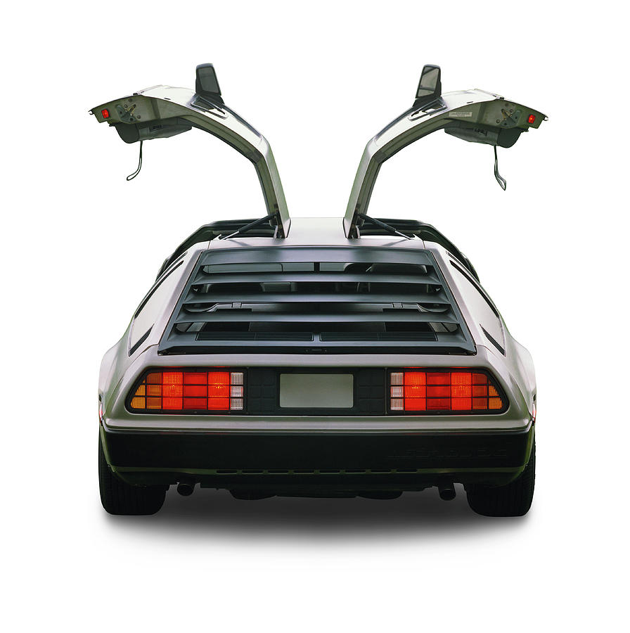 1983 Delorean Coupe Photograph by Car Culture