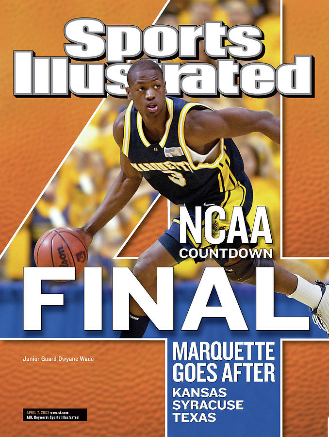 2003 Ncaa Final Four Countdown Sports Illustrated Cover Photograph by Sports Illustrated