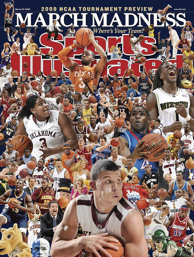 2009 March Madness College Basketball Preview Sports Illustrated Cover Photograph by Sports Illustrated