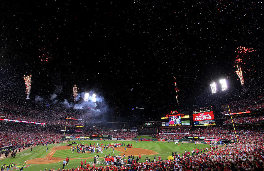 2011 World Series Game 7 - Texas Photograph by Doug Pensinger