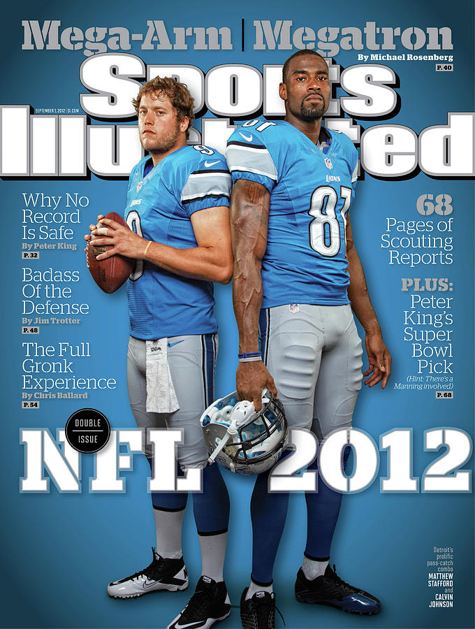 2012 Nfl Football Preview Issue Sports Illustrated Cover Photograph by Sports Illustrated