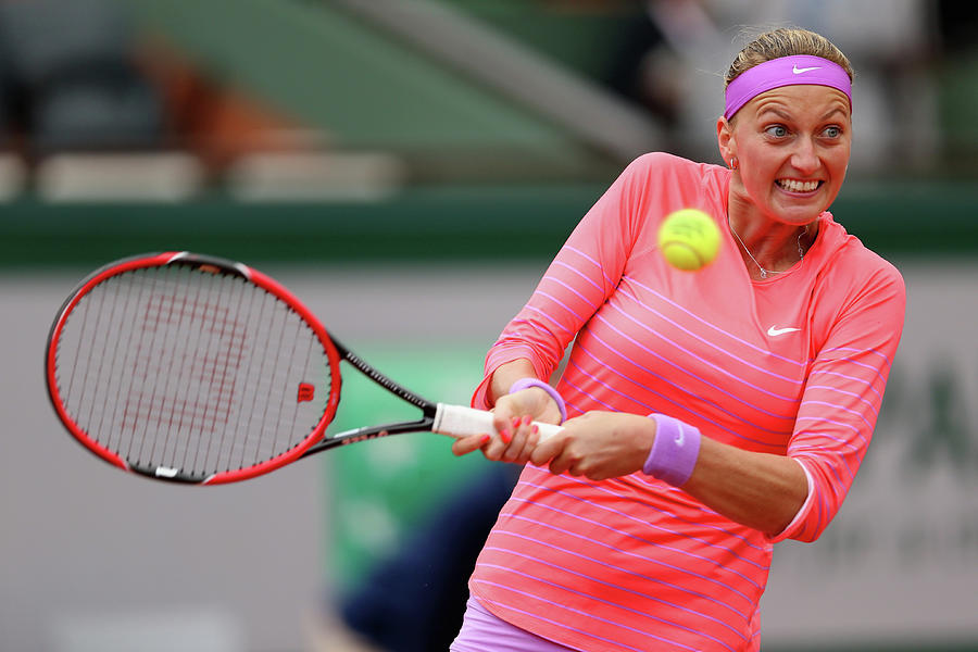 2015 French Open - Day Three Photograph by Clive Brunskill