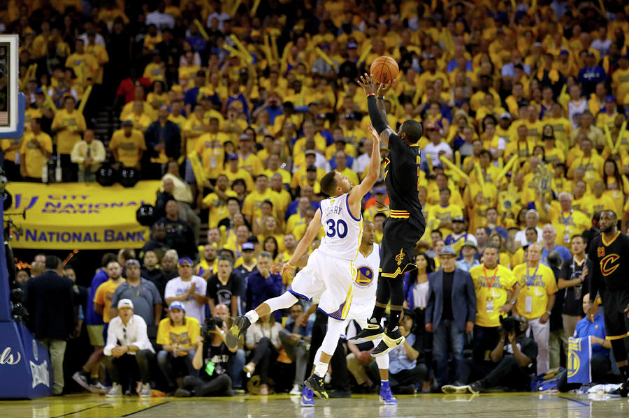 2016 Nba Finals - Game Seven Photograph by Ezra Shaw