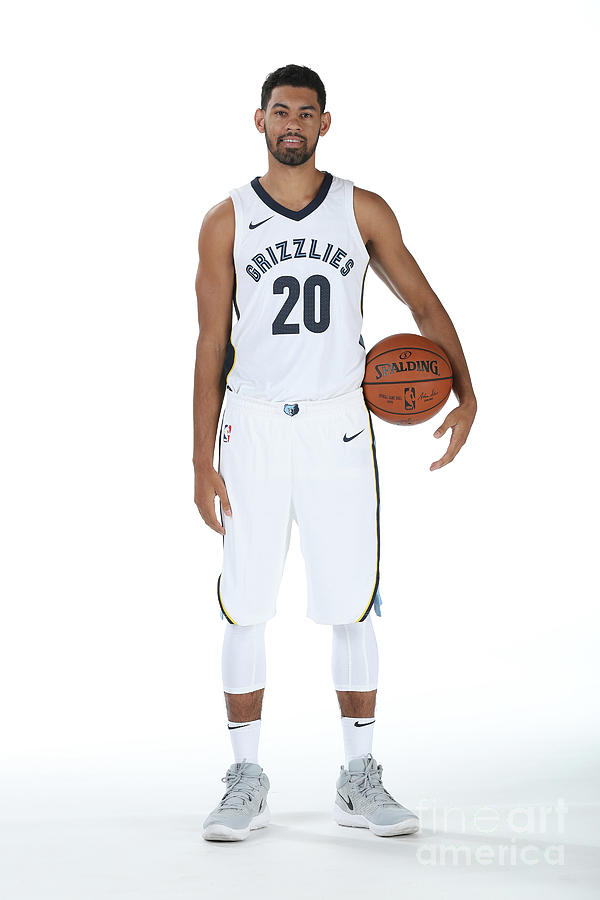 2017-2018 Memphis Grizzlies Media Day Photograph by Joe Murphy