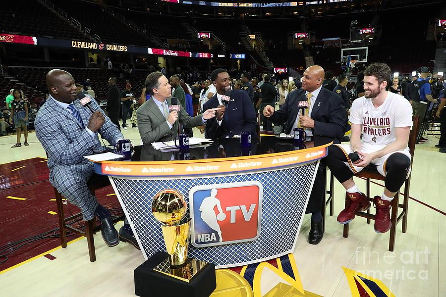 Playoffs Photograph - 2017 Nba Finals - Game Four by Joe Murphy