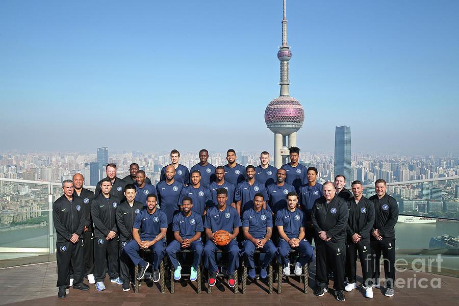 2017 Nba Global Games - China Photograph by David Sherman