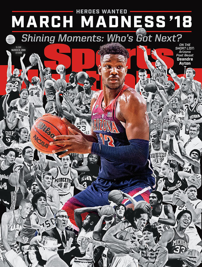 2018 March Madness College Basketball Preview Issue Sports Illustrated Cover Photograph by Sports Illustrated