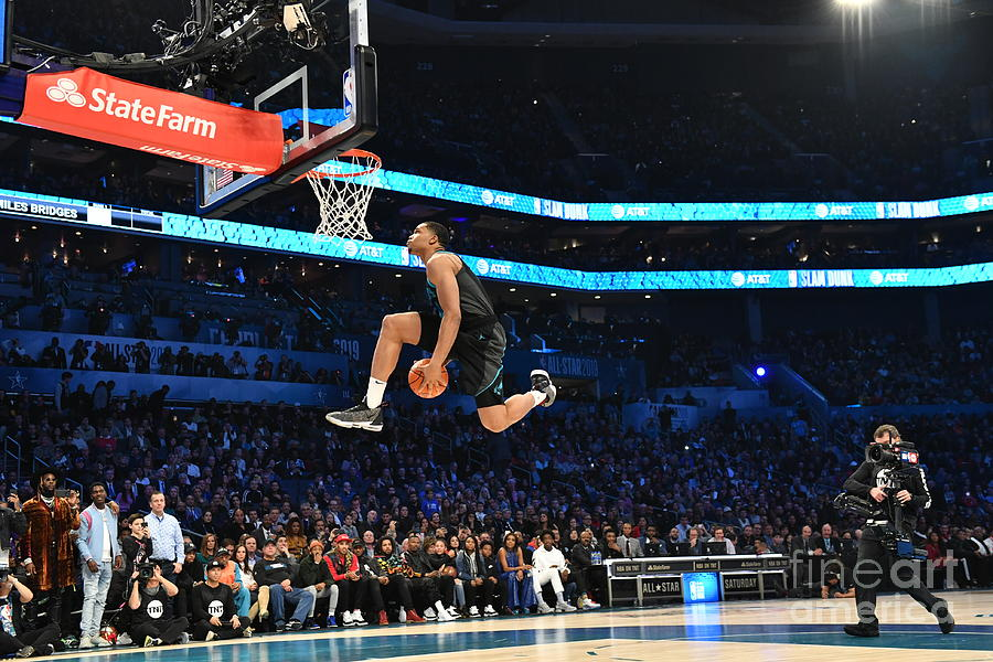 2019 At&t Slam Dunk Photograph by Jesse D. Garrabrant
