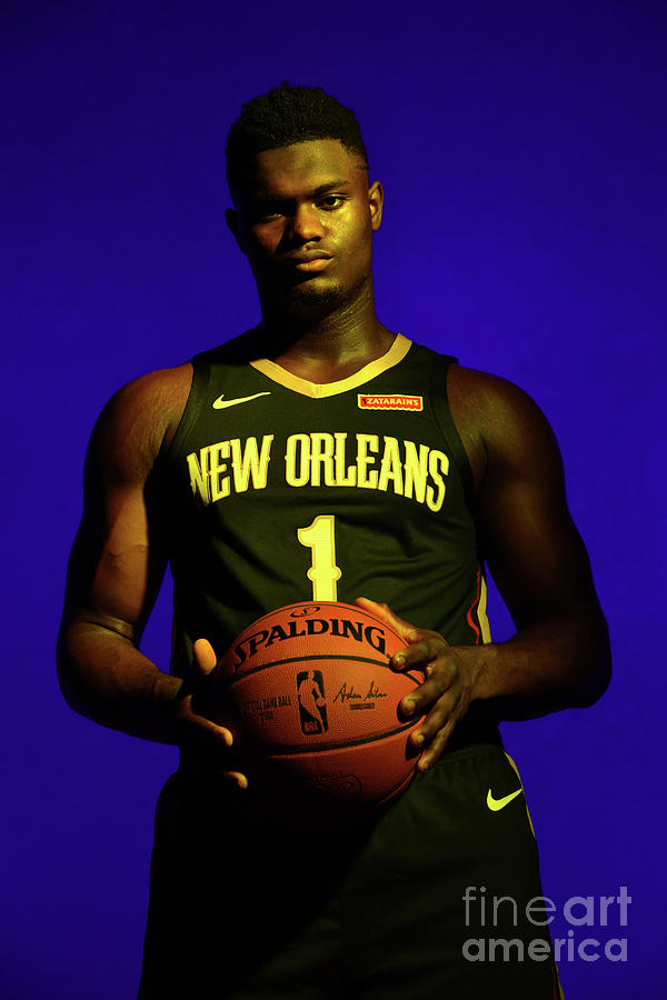 2019 Nba Rookie Photo Shoot Photograph by Jesse D. Garrabrant