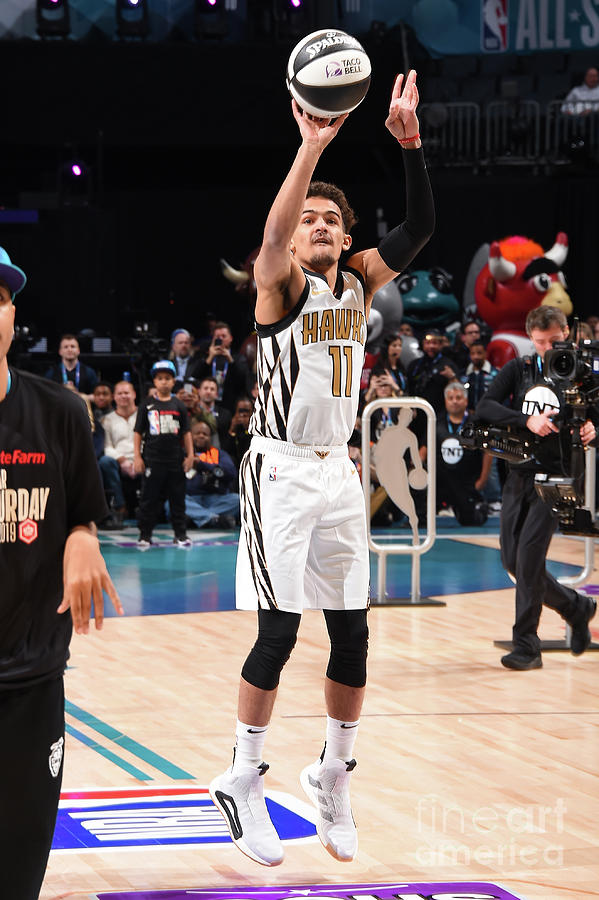 2019 Taco Bell Skills Challenge Photograph by Andrew D. Bernstein