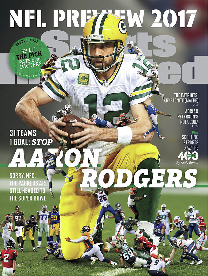 31 Teams, 1 Goal Stop Aaron Rodgers, 2017 Nfl Football Sports Illustrated Cover Photograph by Sports Illustrated
