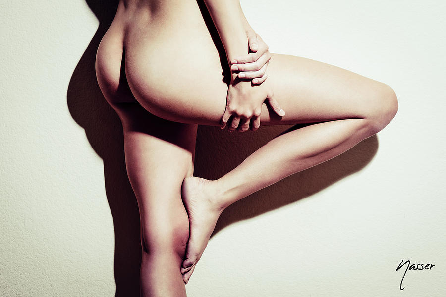 Caucasian Photograph - 5783 Natasha Au Naturel - Boudoir Studio Nude Beauty Editorial by Amyn Nasser - Surxposed