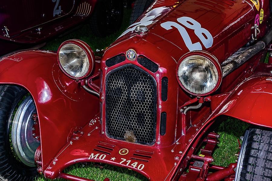1930's Photograph - A 1930 Alfa Romeo 6c 1750 Gs  by Graham Cornall
