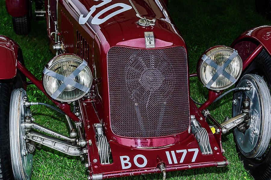 1930's Photograph - A 1933 Maserati 8c 3000 Biposto by Graham Cornall
