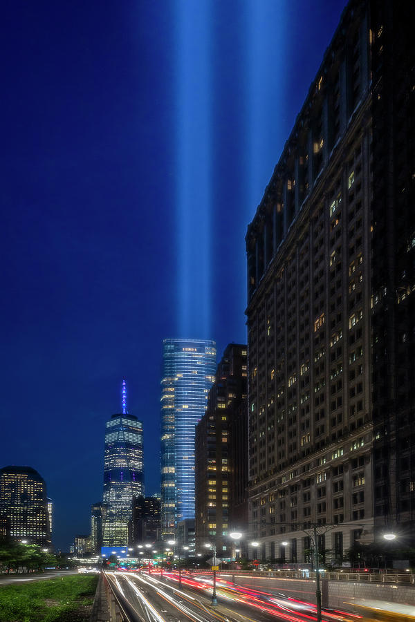 A 911 NYC Tribute In light by Susan Candelario