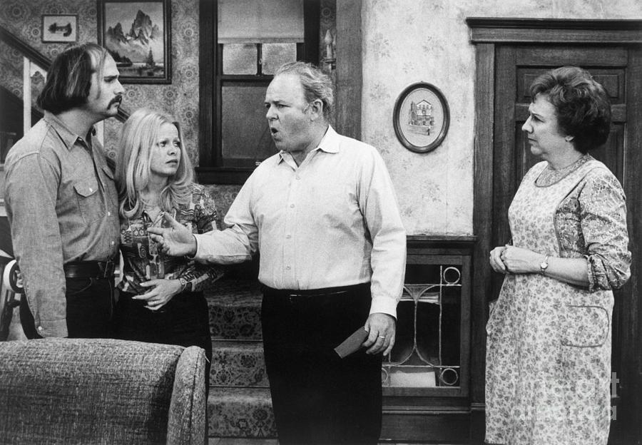 A Scene From All In The Family Photograph by Bettmann