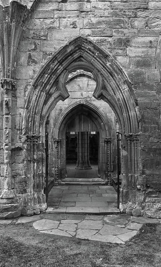A View Through Elgin Cathedral by Dave Mills
