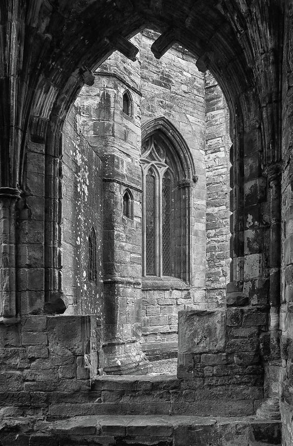A Window at Elgin Cathedral by Dave Mills